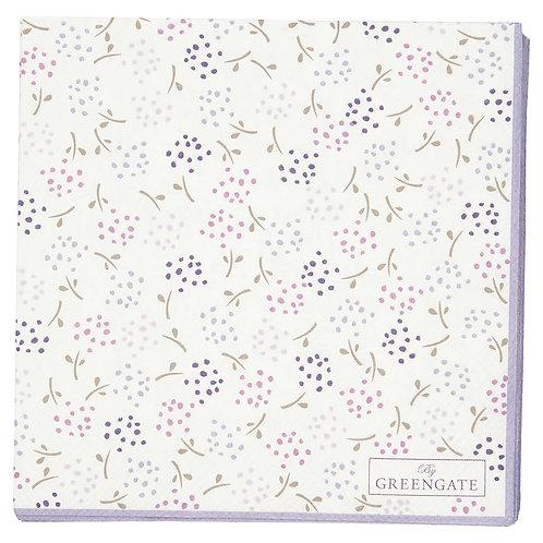 Greengate Kleine Papierserviette - Ginny White