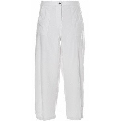 Gozzip - Sommerliche Baggy Hose - Weiß