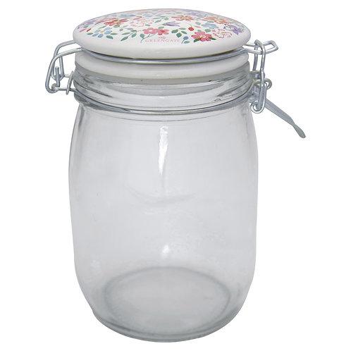 GreenGate - Vorratsglas (1 L) - Clementine White