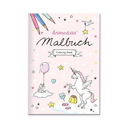 """Malbuch """"Einhorn"""" von Krima & Isa"""
