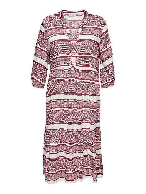 Only Carmakoma - Schönes Curvy-Kleid mit Allover-Print