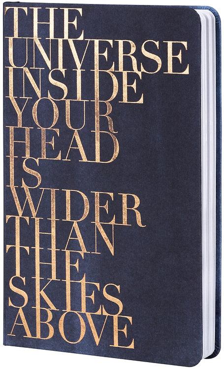"RÄDER - Office Notizbuch ""The universe inside..."""