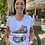"Thumbnail: Angesagtes T-Shirt mit Glitzerprint - ""Chucks"" Pink"