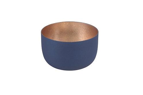 """Windlicht """"Madras"""", Größe S - Midnight Blue/Gold"""