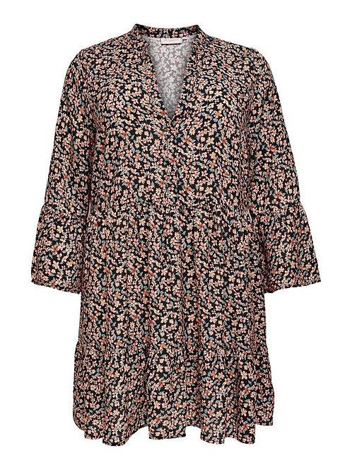 ONLY CARMAKOMA - Curvy-Kleid mit Streublumenprint