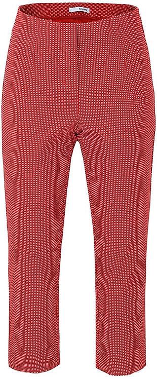 SALE Stehmann - 7/8 Schlupfhose - Rot mit weißen Punkten