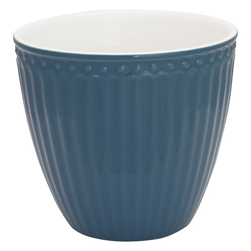 GreenGate - Latte Cup - Ocean Blue