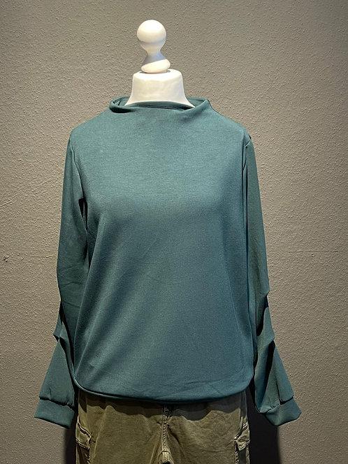 SALE Suza - Kuscheliges Sweatshirt in Grün