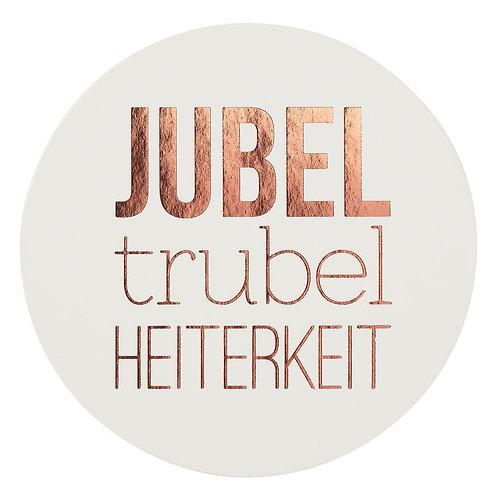 """Untersetzer von Räder """"Jubel, Trubel, Heiterkeit"""" - 6er Set"""
