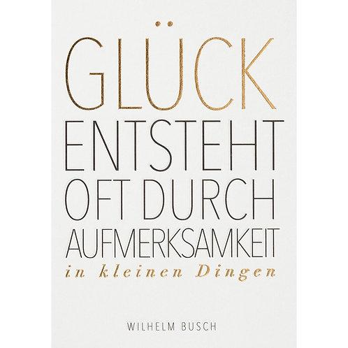 """Postkarte von Räder """"Glück entsteht…"""""""