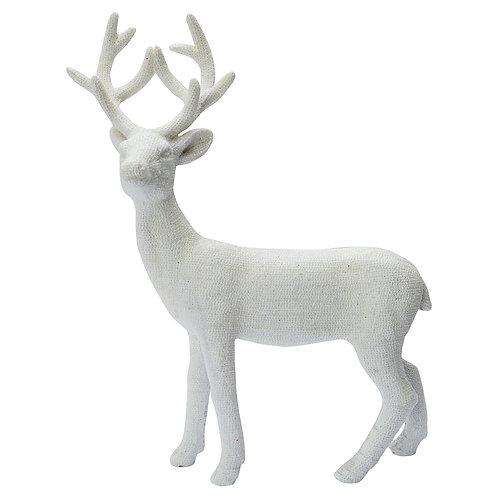 Greengate Weihnachtsdekoration Rentier - Deer White