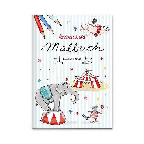 """Malbuch """"Zirkus"""" von Krima und Isa"""