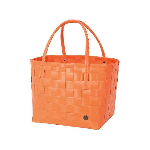 """Handed By - Einkaufskorb """"Paris"""" - Coral Orange"""
