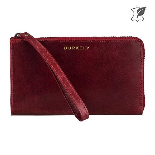 """Portemonnaie """"Edgy Eden Wallet L"""" von Burkely -Kunstleder / Farbe Rot"""