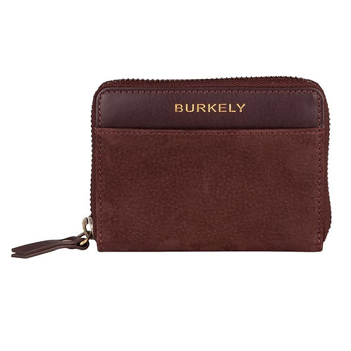 "Portemonnaie ""Soul Skye Wallet S"" von Burkely - Leder / Farbe Rotbraun"