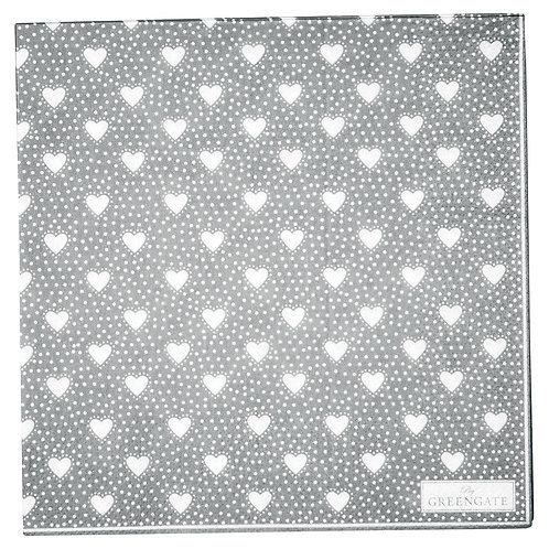 Greengate Papierserviette - Penny Grey