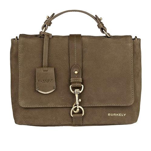 """Tasche """"Soul Skye Citybag"""" von Burkely - Leder / Farbe Grün"""