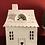 Thumbnail: VL Home - Lichthaus mit Herztür und Balkon (4 Flaschen) - Zink/Weiß