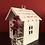 Thumbnail: Haus mit kleiner Flasche - Zink/Weiß