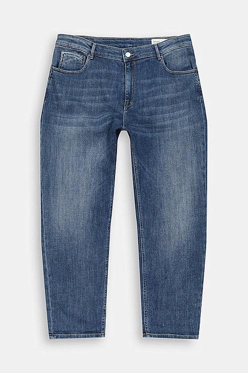 Esprit Curvy - 7/8 Stretch-Jeans aus organischer Baumwolle
