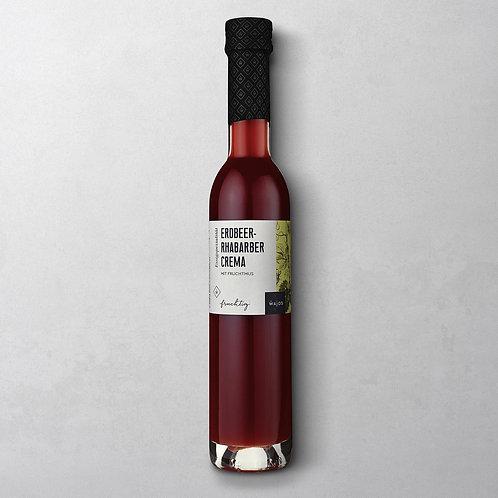 Wajos - Erdbeer-Rhabarber Crema (250 ml)