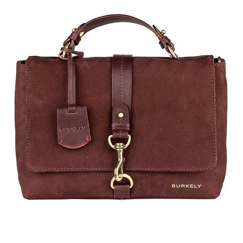 "Tasche ""Soul Skye Citybag"" von Burkely - Leder / Farbe Rotbraun"
