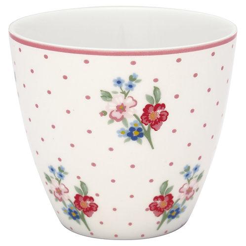 GreenGate - Latte Cup - Eja White