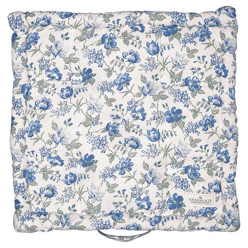 GreenGate - Großes Sitzkissen (50 x 50 cm) - Donna Blue