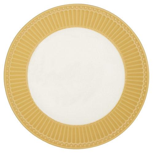 GreenGate - Frühstücks- / Kuchenteller - Alice Honey Mustard