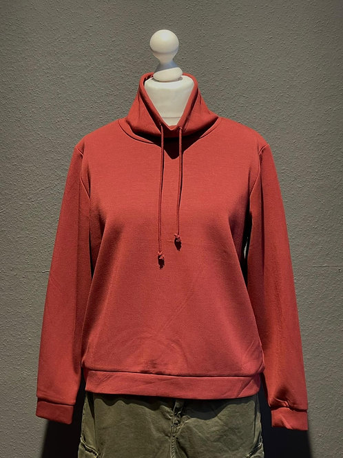 SALE Suza - Kuscheliges Sweatshirt in Rostrot