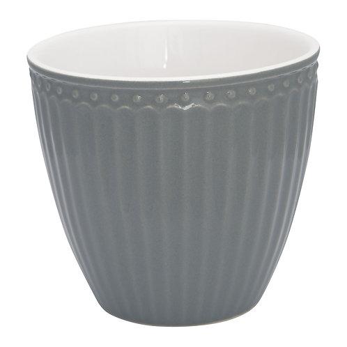 GreenGate - Latte Cup - Alice Stone Grey