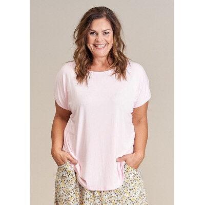 Gozzip - Leichtes T-Shirt - Rosa