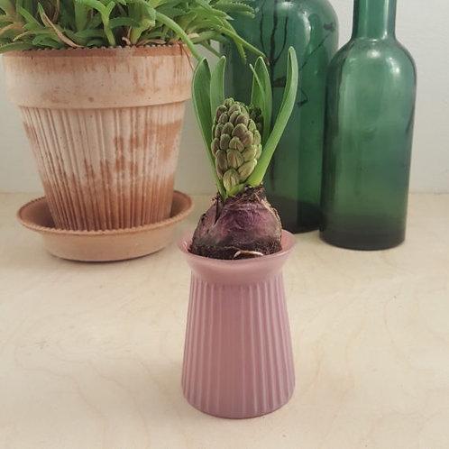"""Kleine Vase von Madleys """"Ridges Dark Rose"""""""