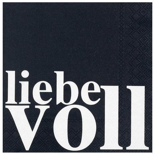 """RÄDER - Servietten """"Liebevoll"""""""