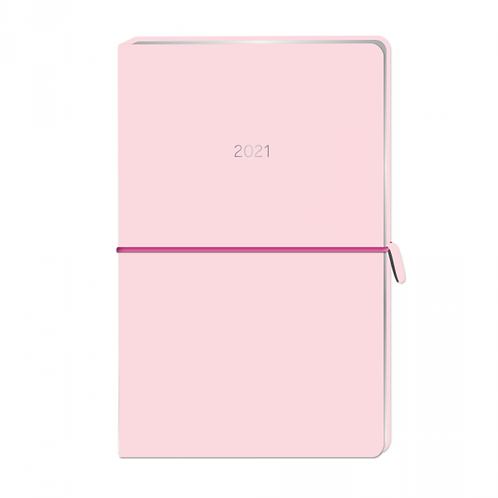 "Grafik Werkstatt Terminplaner ""Simple.Beautiful"" - Lederlook Soft Pink"