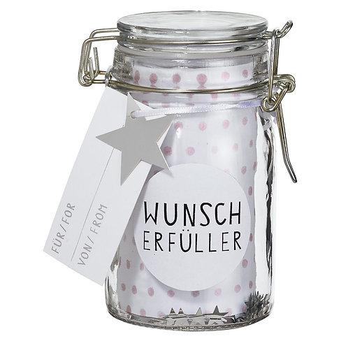 """RÄDER - Geschenkglas """"Wunscherfüller"""""""