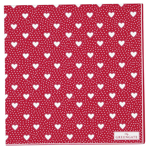 Greengate Papierserviette - Penny Red