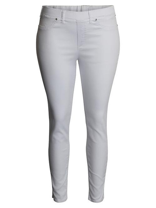 Ciso - 7/8-Hose mit Stretch in schmaler Passform - Weiß