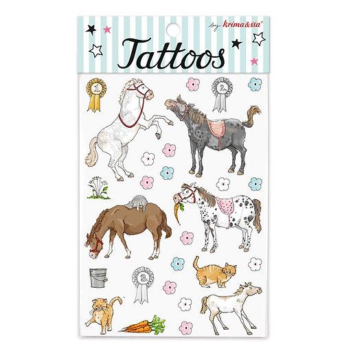 """Tattoos """"Pony"""" von Krima & Isa"""