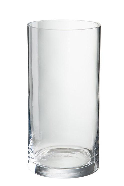 Zylindervase aus Glas