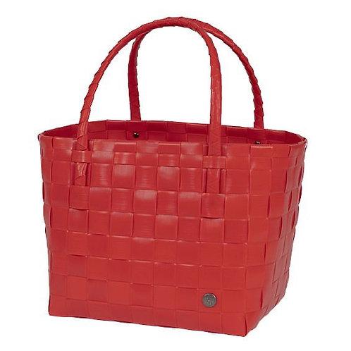 """Handed By - Einkaufskorb """"Paris"""" - Chili Red"""