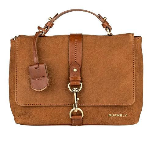 "Tasche ""Soul Skye Citybag"" von Burkely - Leder / Farbe Cognac"