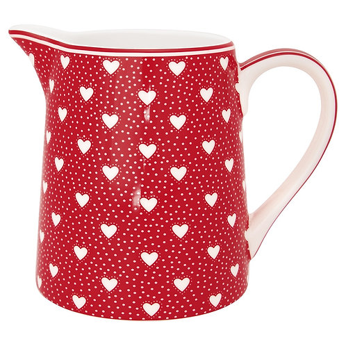 Greengate Krug - Penny Red