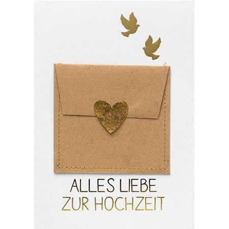 """Gutscheinkarte von Räder """"Alles Liebe zur Hochzeit"""""""