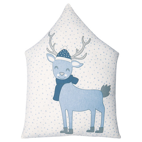 GreenGate - Kinderkissen (30 x 40 cm) - Deer Pale Blue