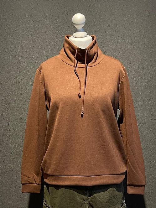 SALE Suza - Kuscheliges Sweatshirt in Braun