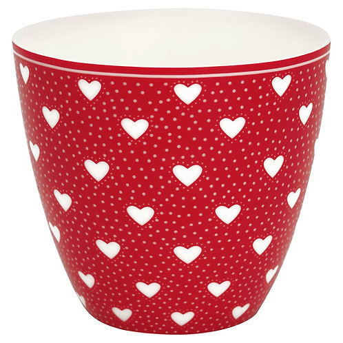 Greengate Lattecup - Penny Red