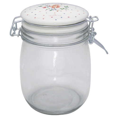 GreenGate - Vorratsglas (0,75 L) - Belle White