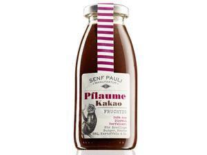 """Senf Pauli - Soße """"Pflaume & Kakao"""" (250 ml)"""
