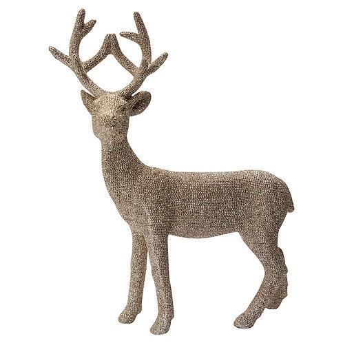Greengate Weihnachtsdekoration Rentier - Deer Champagne